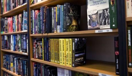 FOTO: Sci-fi knihovna