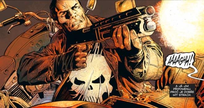 Garth Ennis; Leandro Fernandez: Punisher MAX 4 (ilustrační)