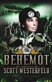 Scott Westerfeld: Behemót (obálka)