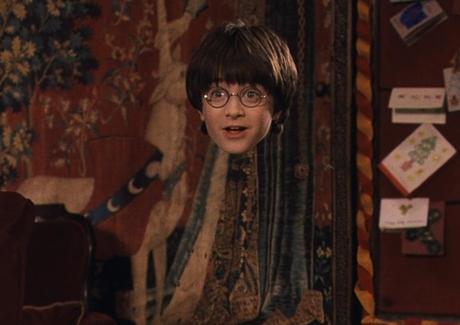 FOTO : Harry Potter s neviditelným pláštěm