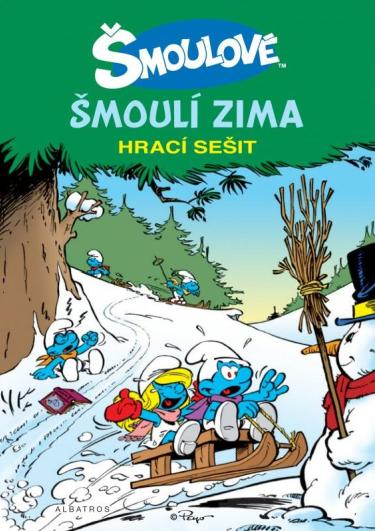 Šmoulí zima Peyo (obálka knihy)