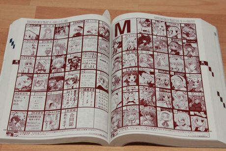 FOTO: Katalog Comiketu
