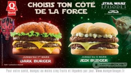 FOTO: Dark Burger a Jedi Burger