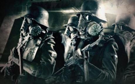 OBR: Výřez z plakátu k turné We come in peace slovinské skupiny Laibach