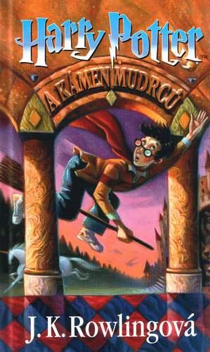 obálka J. K. Rowlingová: Harry Potter a kámen mudrců
