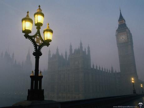 Londýnská mlha