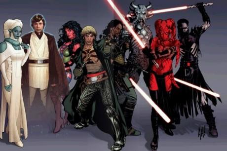 SW Legacy - hlavní postavy