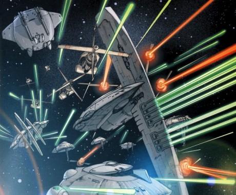 SW Legacy bitva ve vesníru