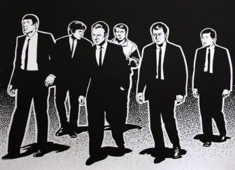 OBR: Posádka Enterprise ve stylu Tarantinových Gaunerů