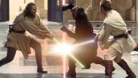 FOTO: Star Wars souboj světelných mečů v Epizodě I.