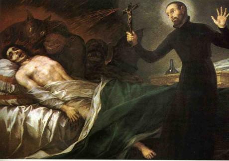 Goya - vymitání