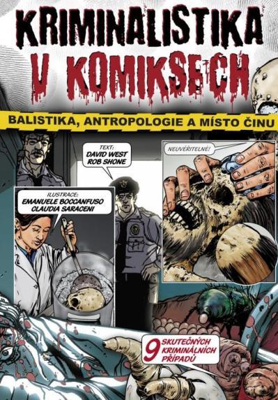 Kriminalistika v komiksech (obálka knihy)