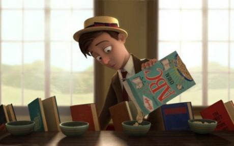fotka k the fantastic flying books of mr. morris lessmore
