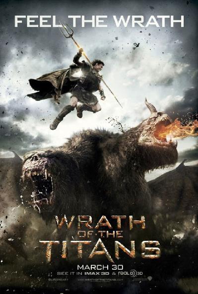 Obrázek: Hněv Titánů - plakát