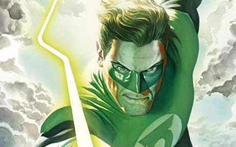 Green Lantern na obálce Žádného strachu. Zdroj: BB Art