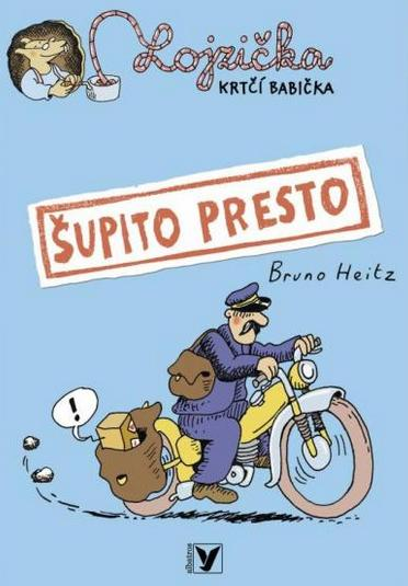 Lojzička krtčí babička Bruno Heitz (obálka knihy)