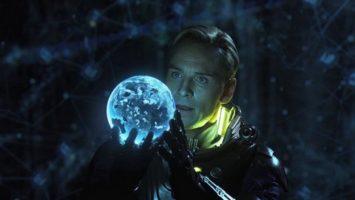 M. Fassbender ve filmu Prometheus