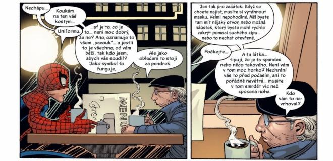 Komiks Amazing Spider-Man: Ezekielův návrat (ilustrační)