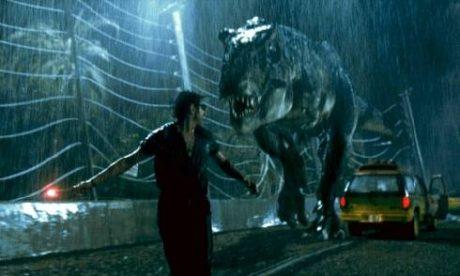 Tyranosaurus v desti