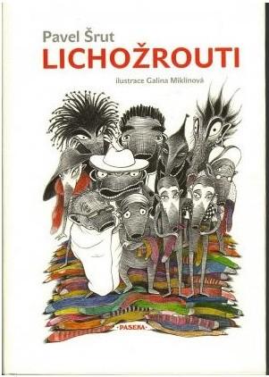 OBR: Lichožrouti, přebal první knihy