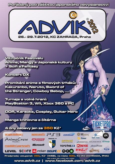 OBR: Oficiální plakát festivalu Advik 2012
