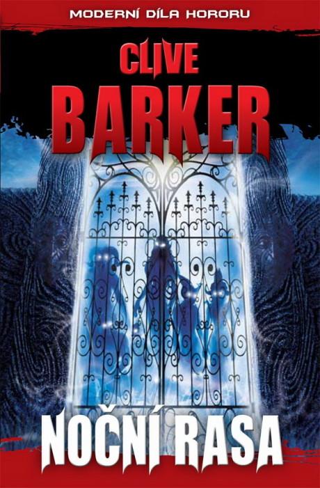 Clive Barker: Noční rasa (obálka)