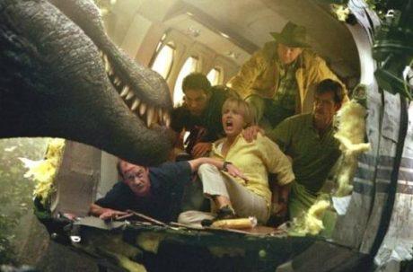 Spadle letadlo Jursky park 3