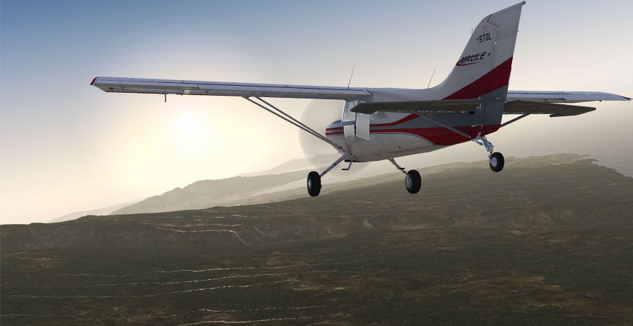OBR.: Microsoft Flight