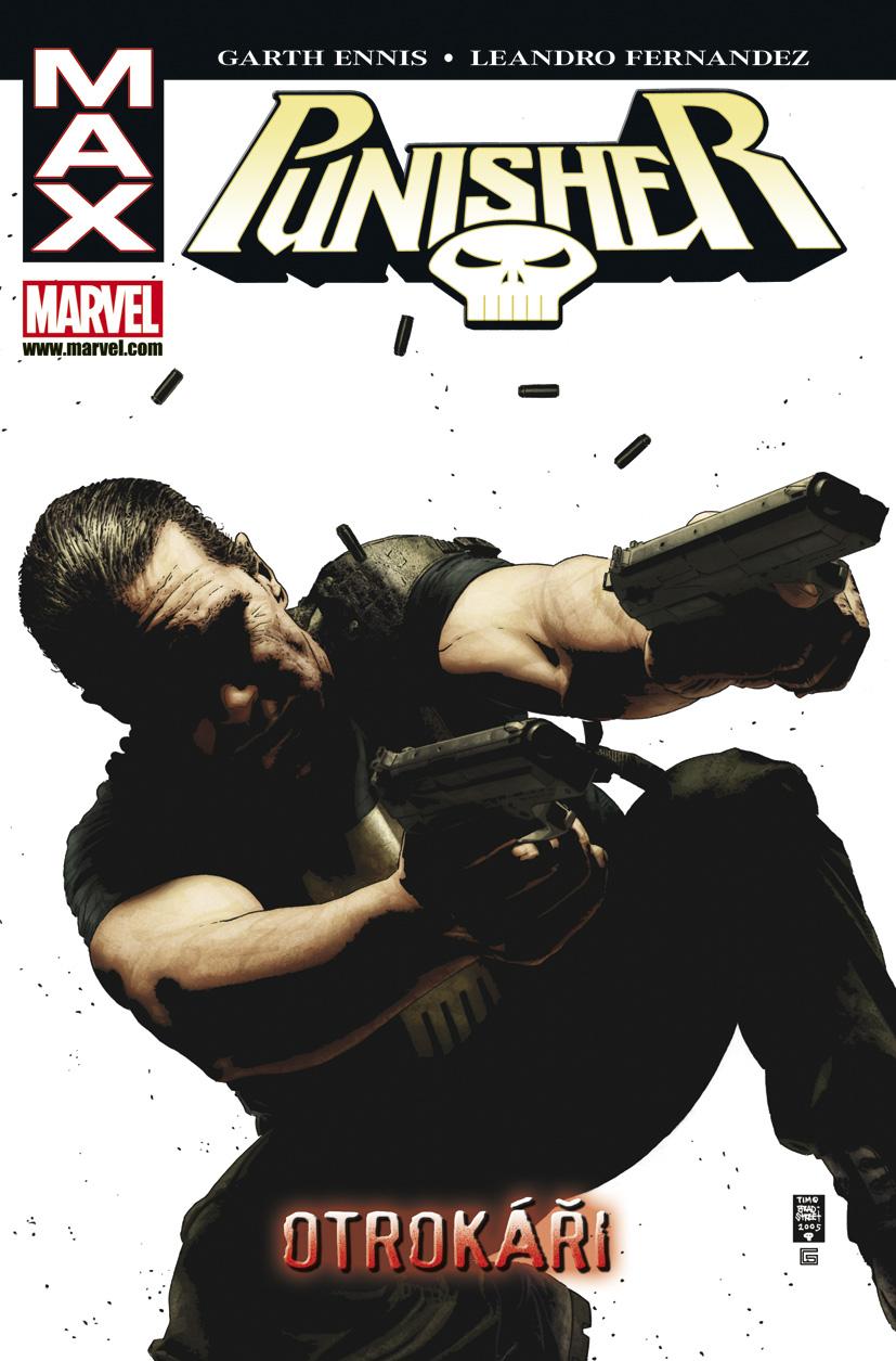 obálka Garth Ennis, Leandro Fernandez: Punisher MAX 5