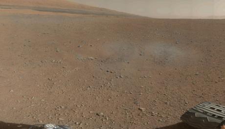 FOTO: Curiosity na Marsu