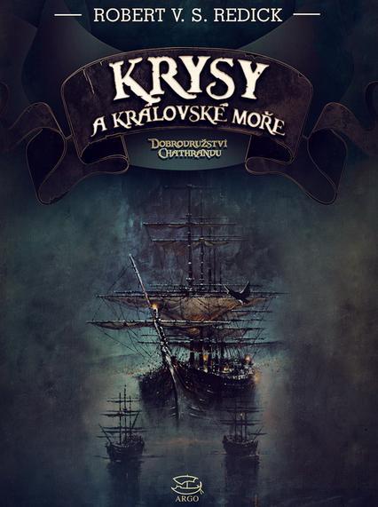 Krysy a královské moře V. S. Redick (obálka knihy)