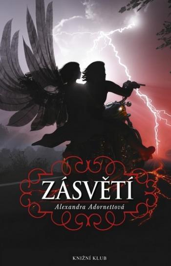 Zásvětí Alexandra Adornettová (obálka knihy)