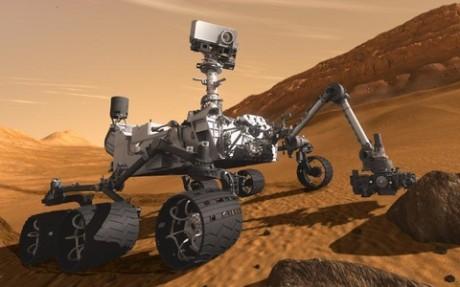 Co fascinujícího objevila sonda při svém putování po Marsu? Zdroj: NASA.gov