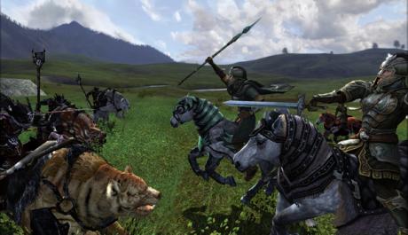 OBR.: LotRO - Riders of Rohan - jezdecký souboj