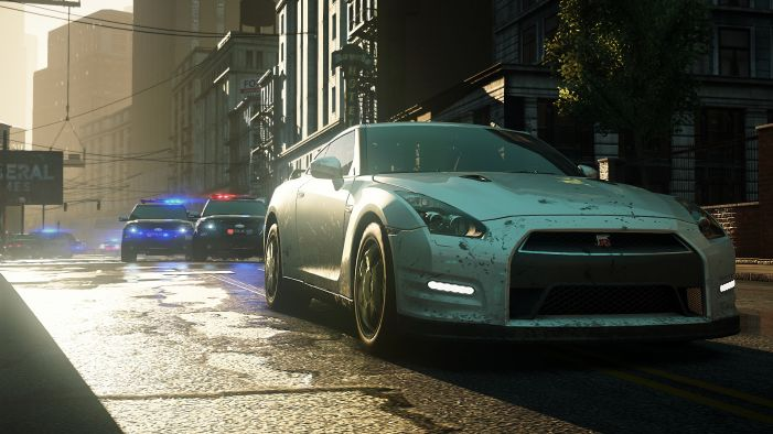 OBR.: Need for Speed: Most Wanted - policejní honička
