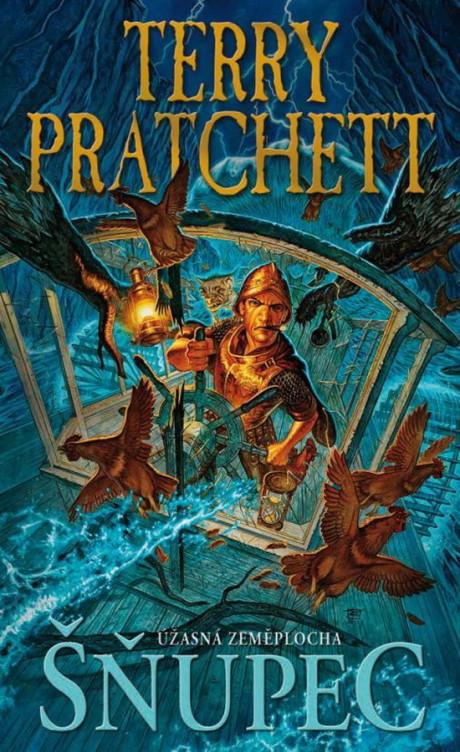 Terry Pratchett: Šňupec (obálka)
