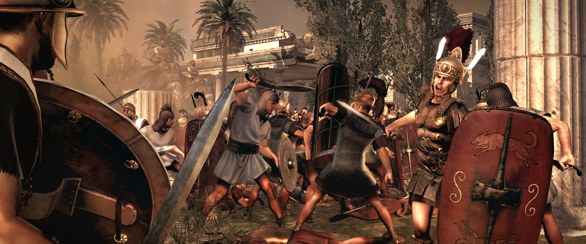 OBR.: Total War: Rome II- boj zblízka