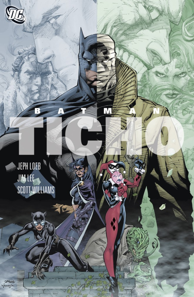 OBR: Obálka Komiksu Batman - Ticho