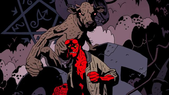 OBR: Hellboy, komiksová postava
