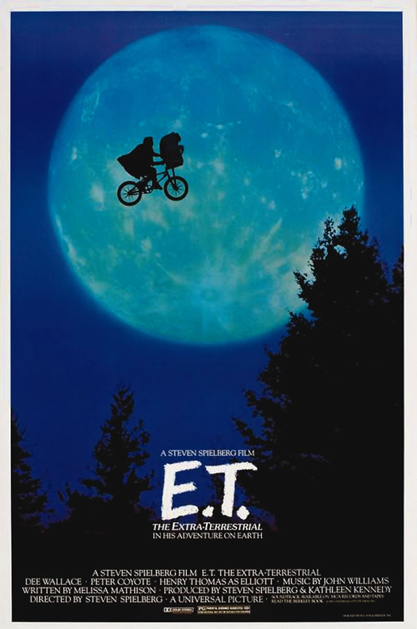 OBR: E.T. Mimozemšťan, filmový plakát