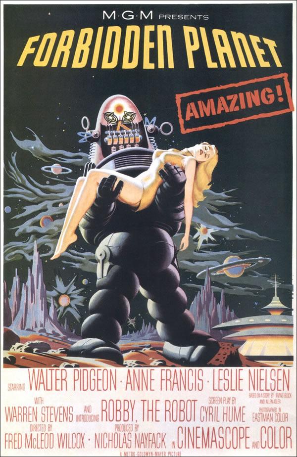 OBR: Zakázaná planeta, filmový plakát