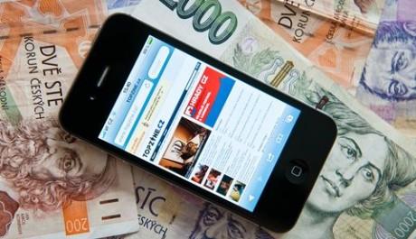 FOTO: Mobilní telefon - ilustrační foto