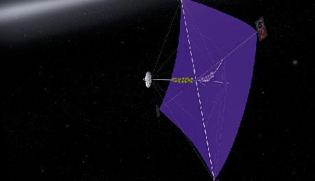 OBR: Solární plachetnice