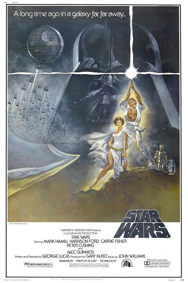 OBR: Hvězdné války, filmový plakát od bratrů Hildebrandtových