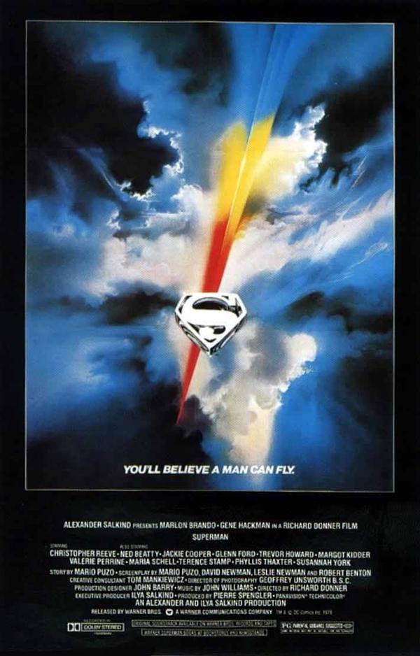 OBR: Superman, filmový plakát