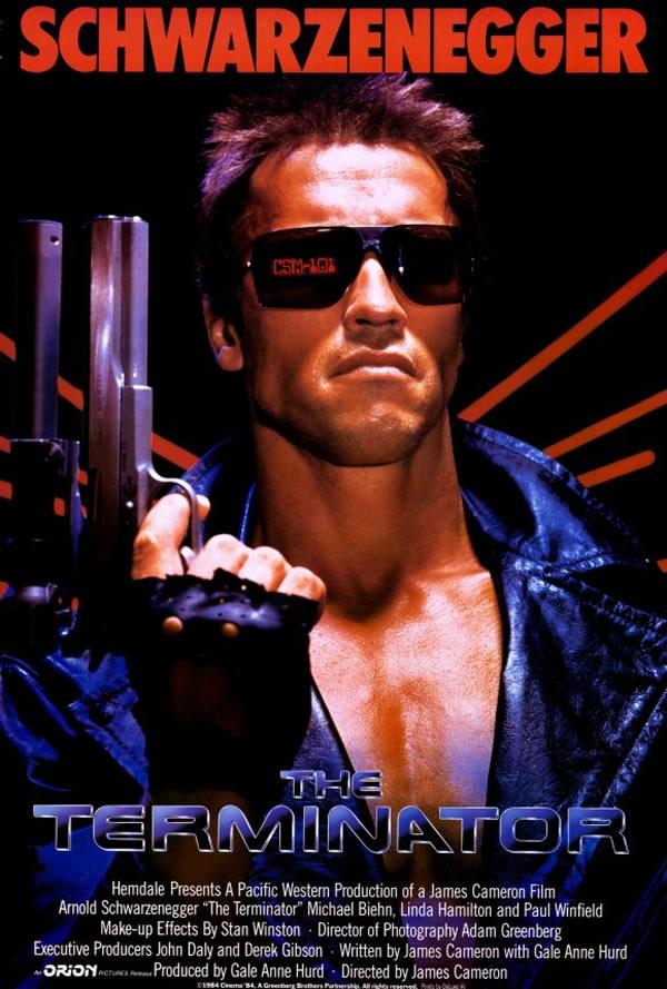 OBR: Terminátor, filmový plakát