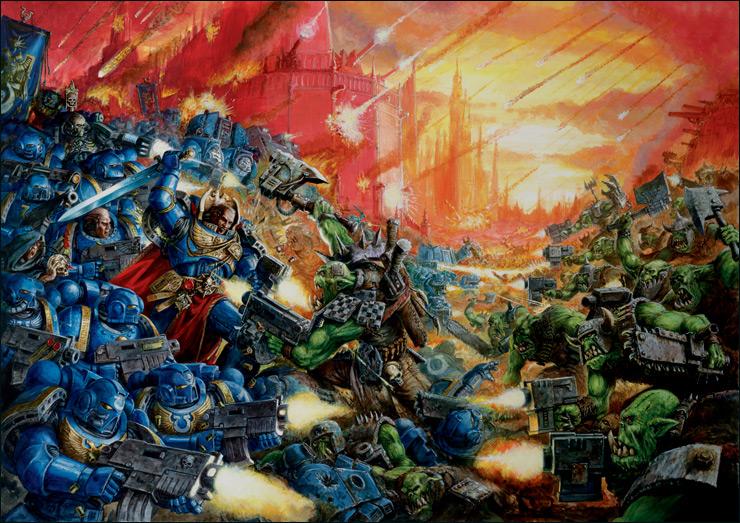 OBR: Warhammer 40K, legendární sci-fi hra