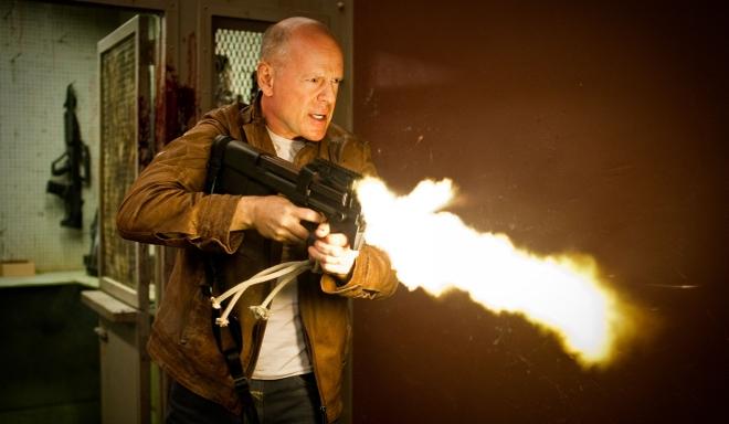 FOTO: Bruce Willis ve filmu Looper