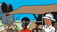 Tintin v Kongu perex (výřez z obálky komiksu)