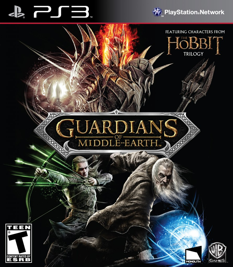 OBR.: Guardians of Middle-Earth - přebal hry